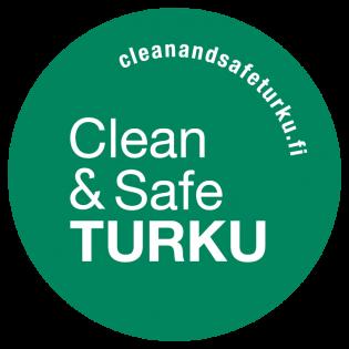 Clean & Safe -logo